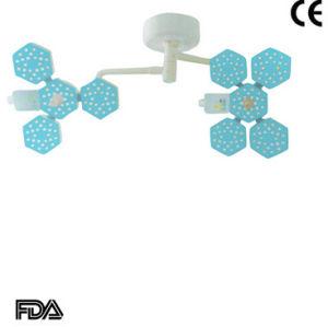 二重ヘッドLED外科軽い天井の操作ランプステラ