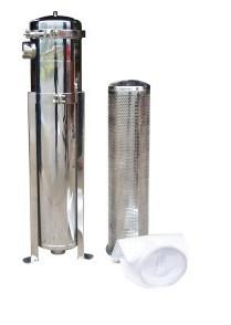 Tipo custodia del sacchetto dell'acciaio inossidabile di Yl-2-219 Dn65mm di filtro