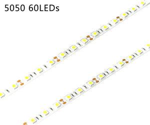 10mm PCB SMD5050 Flexible CRI>95 tira de leds blancos