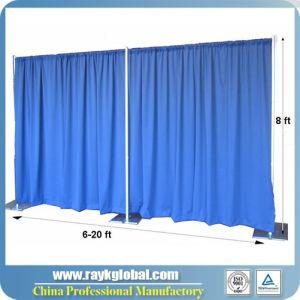plafond die de gordijnen van het stadium van curtainsportable van de achtergrond kitswedding draperen