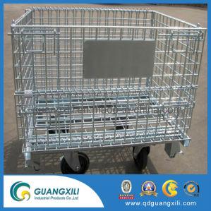 1200*1000*890mm Serviço pesado contentor Palete de malha de arame galvanizado