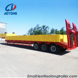 75tons 2 allinea una base dei 4 assi/il rimorchio bassi Transportion camion di Lowboy