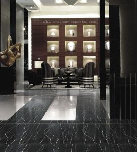 Blanco y negro pulido pisos de m rmol negro marquina - Marmol negro marquina ...