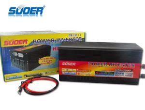 Suoer 24V 2500W Onda senoidal modificada inversor solar con el cargador (HDA-2500D)
