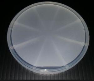 2 duim het Wafeltje van het Glas van het Horloge van het 4 LEIDENE van de Duim Kristal van de Saffier