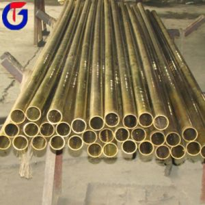 El precio del tubo de latón, bronce el tubo cuadrado