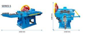 Volledige Automatische Eenvoudige Werkende Concrete Spijker die Machine maken