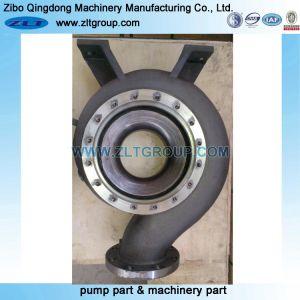 Chemisch ANSI Durco van het titanium Teken III de CentrifugaalHuisvesting van de Pomp van het Water in Roestvrij staal in CD4/316ss