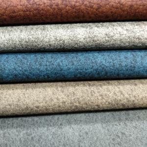 Artificial bragados Faux PU couro sintético para presidir/sofá /-503sxah móveis