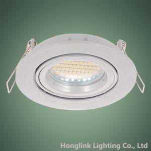 Deckenleuchte-Befestigung Downlight des Torsion-Sicherungsring-Neigung-Aluminium-GU10 MR16 LED vertiefte