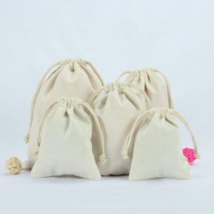 Cotone/Organza/velluto/iuta personalizzata/sacchetti di nylon, sacchetti impaccanti 2018 del regalo del Drawstring della tela di canapa del cotone,
