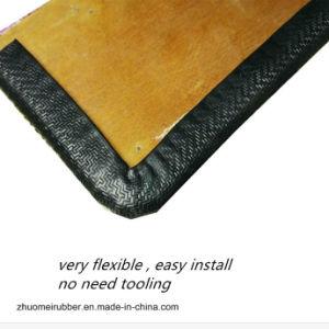 Embellecedor perimetral PVC/aluminio con acabado en negro con textura