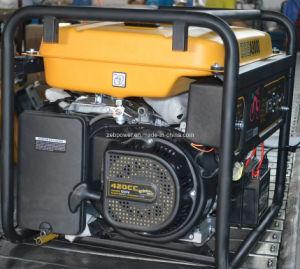 Tipo de abertura de 2,2 kw Monofásico Gasolina geradores portáteis ZGEA2500 e ZGEB2500)