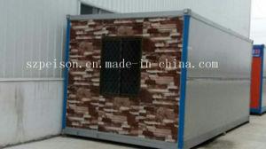 熱い販売のための鋼鉄移動式プレハブかプレハブの家を着色しなさい