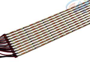 2,5 cc12V 2.88W tira de cinta de LED Flexible, ligero, con apoyo de metal para la disipación del calor.