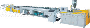 Los tubos de PVC doble línea de maquinaria, la línea de extrusión