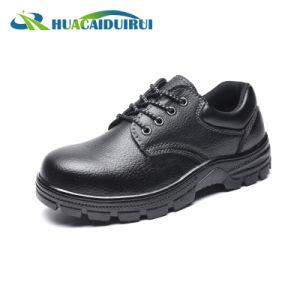 Tapa de acero negro Smash Anti Zapatos de seguridad para el trabajo