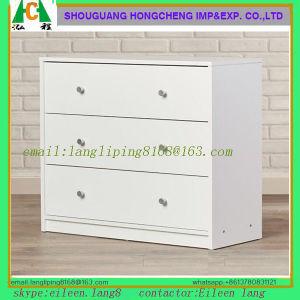 Mesas de cabeceira de madeira DO REINO UNIDO com gaveta Armário torácica de Cabeceira Mobiliário de quarto