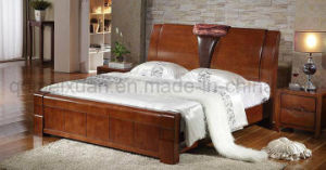 Festes hölzernes Bett-moderne Betten (M-X2745)