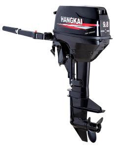 Hangkai 9.8HP 물 냉각 판매를 위한 2개의 치기 선외 발동기