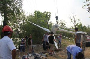El tipo G 3kw un gran poder de la turbina de viento Horizontal off-grid / Sistema de amarre de Grid