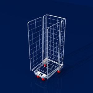 Un cadre de la nidification de la sécurité industrielle de Wire Mesh chariot de rouleau