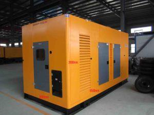 Série Weichai conjunto gerador à prova de 30 kVA com alternador de Faraday