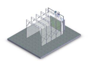 Новый дизайн складной окраска станции
