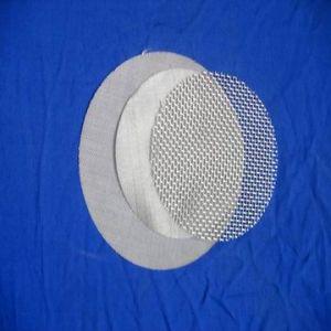 Lamina di metallo d'acciaio perforata rotonda per il filtro
