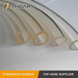 O PVC transparente de plástico transparente flexível de borracha macia