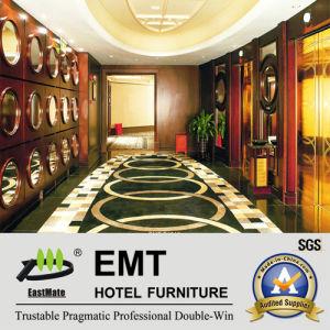 Star Hotel Zone Publique de panneaux muraux en bois (EMT-F1210)