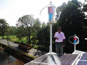 1000W, alta eficiência e gerador da turbina eólica e solar sistema de painel