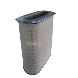 Cartouche de filtre à air irrégulière pour la soudure de la poussière de dispositif de purification de la machine