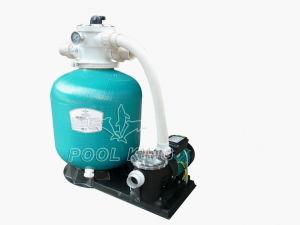 수영풀을%s 펌프 여과 시스템을%s 가진 섬유유리 모래 필터를 가진 플라스틱