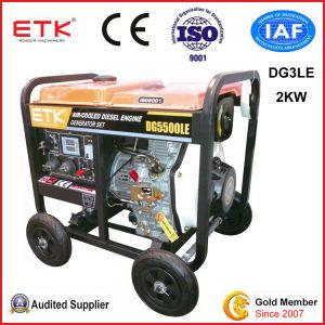 gruppo elettrogeno diesel 2kw con le protezioni di sicurezza