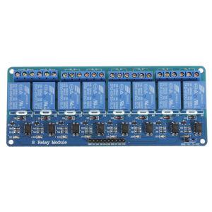 5V da placa do módulo de relé 8 canais para Pic Arduino AVR braço DSP