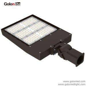 Круглые квадратные освещение полюс регулируемый рычаг 300W 200 Вт 150W 70W 100 Вт Светодиодные лампы Shoebox