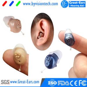 Mini en la mejora de la oreja mejor volumen sordos Audífono Invisible