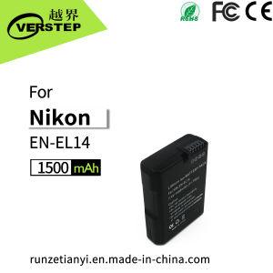 1500mAh bateria de câmara digital para Nikon En-EL14 Enel14um D3500 e D5300 D5600 P7000