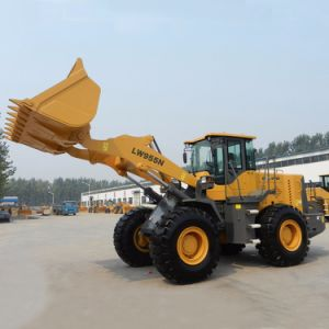 220HP de dieselmotor het Hout van 5 Ton grijpt Lader voor Verkoop vast