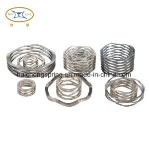 Ressort ondulé en acier inoxydable pour l'industrie ou le fabricant