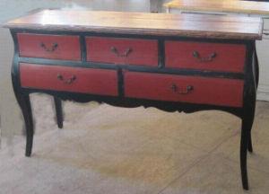 Reproduction d'antiquités chinoises Elm Wood Table supérieure