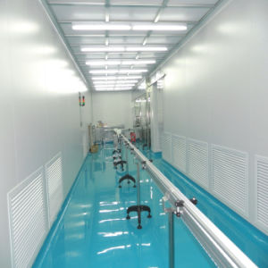FDA GMP Cleanroom van de Normen van ISO de Modulaire Kant en klare Fabrikant van Projecten