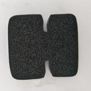 Las juntas de burletes de goma esponja personalizado Extrusión de Gabinete, el equipo de la industria