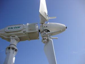 3 lames horizontales 600W générateur de l'éolienne