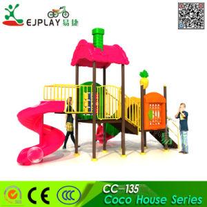 Fabricante utilizado Kids parque ao ar livre Plástica