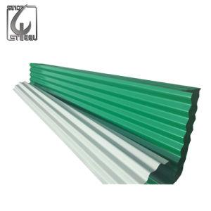 Enduit de couleur du panneau de toiture en carton ondulé en acier galvanisé Retro tuile de métal