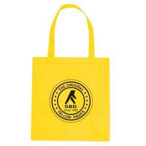 Assez jaune en toile de coton d'affaires Sacs à main pour de gros (CTB-1021)