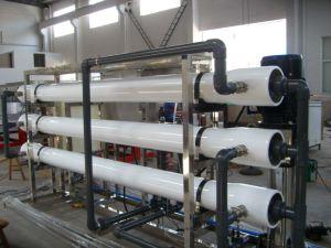 Trattamento delle acque a passo doppio dell'unità di osmosi d'inversione