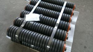 Cilindro de borracha, Impacto, o rolo de borracha do cilindro de impacto para a fábrica de cimento